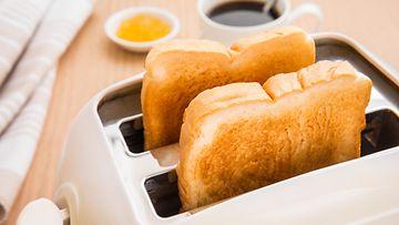 Paahtoleipä leivänpaahdin leipä aamupala