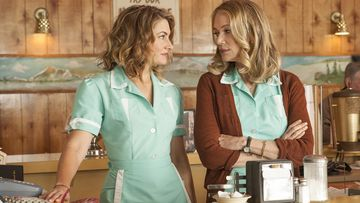 Mädchen Amick ja Peggy Lipton Twin Peaks: The Return 2017
