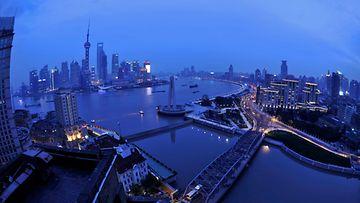 AOP, Shanghai, Kiina, kaupunki