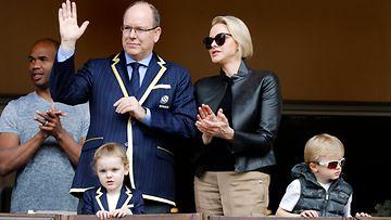 Monacon ruhtinaan perhe