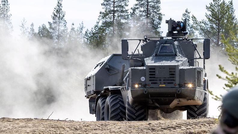 LK Monikansallinen yhteisen tulenkäytön todentamis- ja testaustapahtuma Bold Quest Rovajärvellä 20.5.2019 5