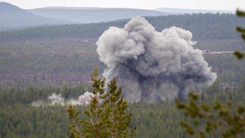 LK Monikansallinen yhteisen tulenkäytön todentamis- ja testaustapahtuma Bold Quest Rovajärvellä 20.5.2019 2
