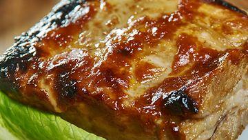 Porsaan sisäfilee possu liha