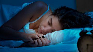 nainen, uni, nukkuminen
