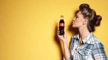 coca-cola kokis pullo