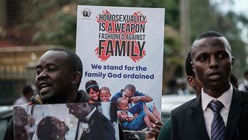 Keniassa homoseksuaalisuus kielletään yhä lailla