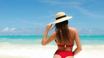 bikinit, ranta, nainen (2)