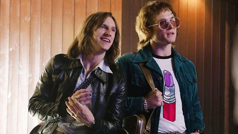 Rocketman Elton John -elokuva 2019 Jamie Bell ja Taron Egerton