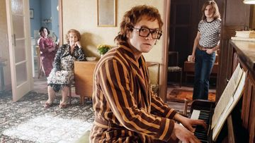 Rocketman Elton John -elokuva 2019 Taron Egerton, Bryce Dallas Howard, Gemma Jones, Jamie Bell