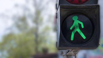 liikennevalot, vihreä valo