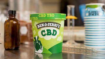 Ben Jerry's jäätelö CBD