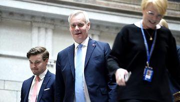 Antti Rinne hallitusneuvottelut LK