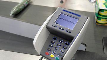 AOP kauppa kassa myymälä ostokset ruokaostokset maksu