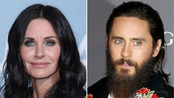 Courteney Cox Jared Leto