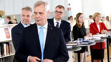 LK, Antti Rinne, hallitus