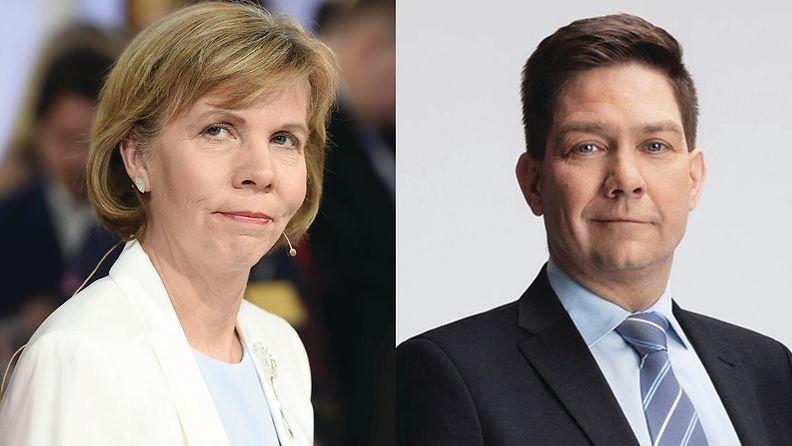 Anna-Maja Henriksson ja Thomas Blomqvist