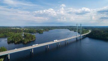 tähtiniemen silta heinola moottoritie