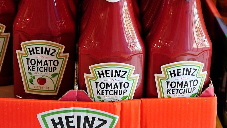 AOP, Heinz, ketsuppi, hylly