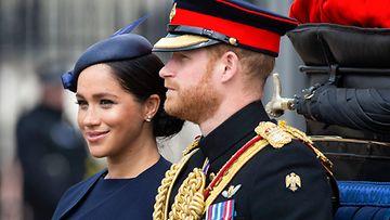 Meghan ja Harry 8.6.2019 Elisabet syntymäpäiväjuhlallisuudet 2
