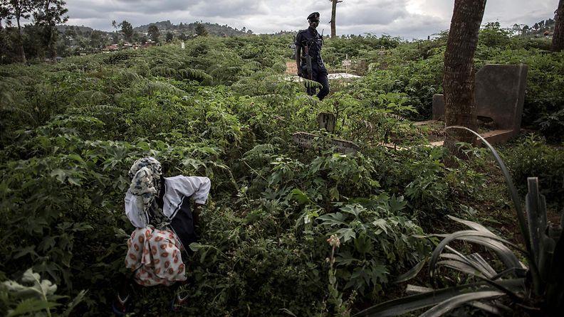 LK ebola Kongo hautajaiset