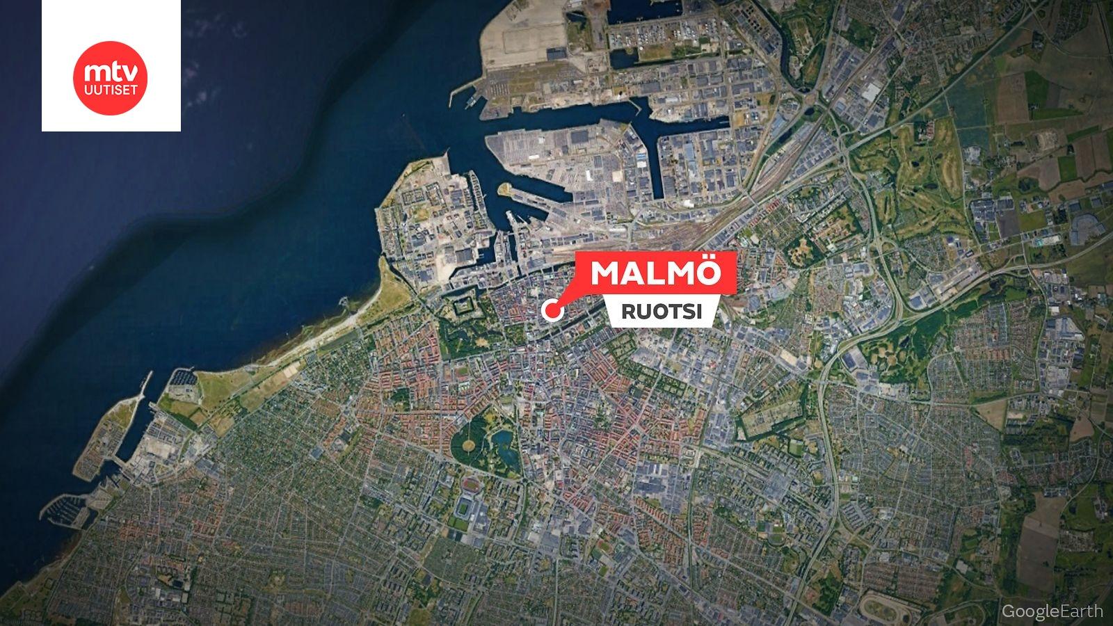 Poliisi Ampui Uhkaavasti Kayttaytynytta Miesta Malmon