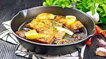 Lohi kala hunaja soijakastike