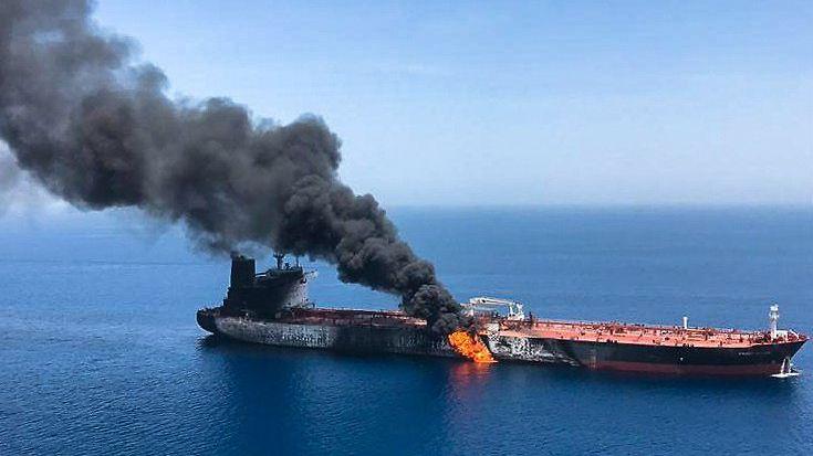 LK Omaninlahti Persianlahti Iran tankkeri hyökkäys