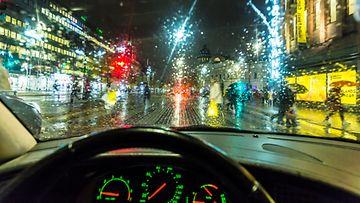 sade helsinki liikenne auto