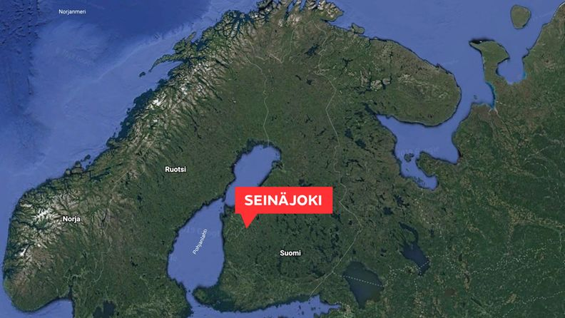 Kartta, Seinäjoki