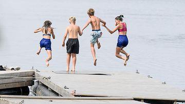 kesä juhannus lämpö uinti helle 2