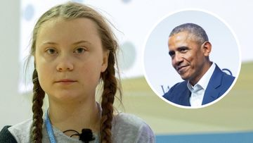 Greta Thunberg + Barack Obama