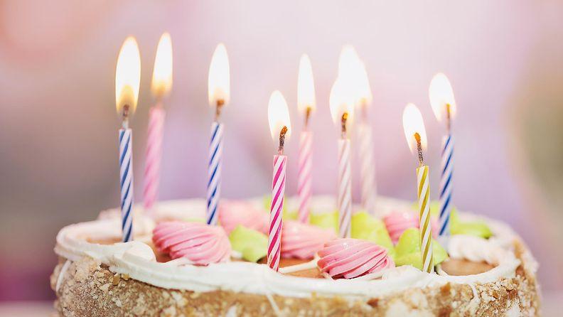 Syntymäpäiväkakku kakku
