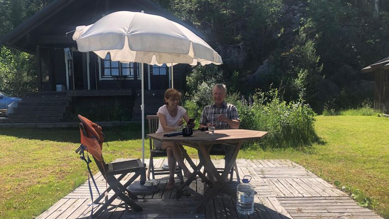 Mimosa ja Jussi Virkkunen