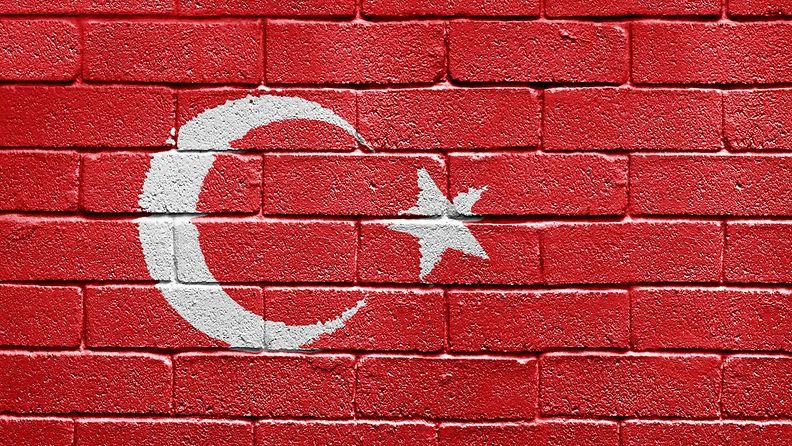 kuvituskuva Turkki lippu