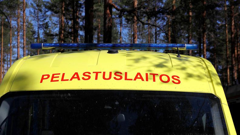 AOP Pelastuslaitos ambulanssi