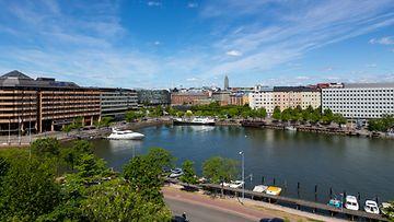 kuvituskuva matkailu Helsinki Hakaniemi