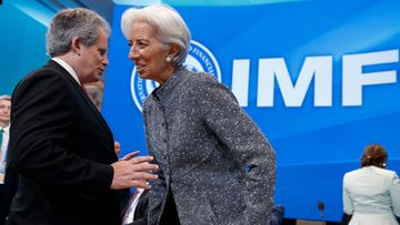 david lipton, christine lagarde IMF AOP