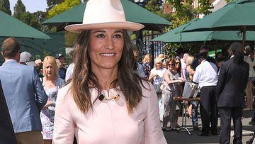 Pippa Middleton Wimbledonissa heinäkuussa 2019