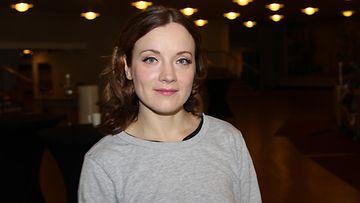 Elena Leeve Sunnuntailounaan kuvauksissa 2019