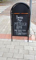 metallica buffa hämeenlinna