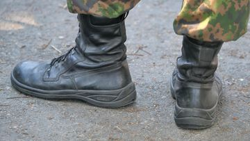 Maiharit puolustusvoimat varusmies AOP
