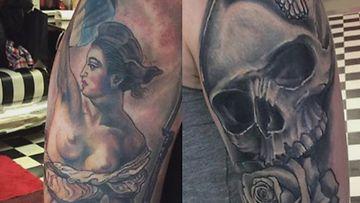 Tatuointi-kuvitus