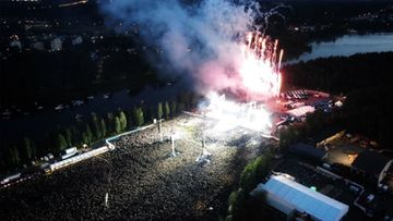 Metallica-keikka-hämeenlinna-poliisin-kuva