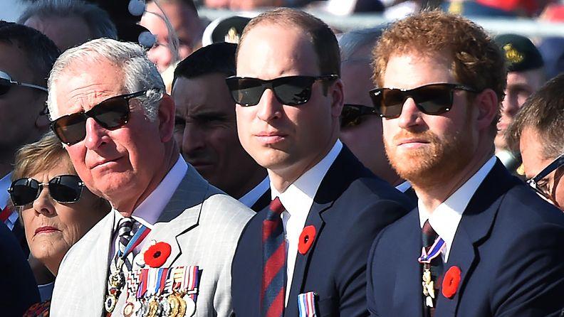 prinssi Charles prinssi William prinssi Harry