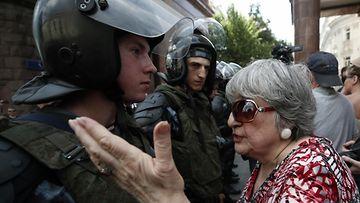 AOP Moskova protestit, venäjä, oppositio