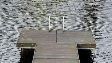 AOP laituri, järvi