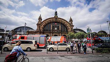 Frankfurt asema onnettomuus