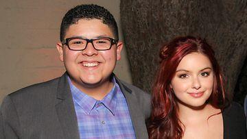 Rico Rodriguez ja Ariel Winter