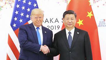AOP, Donald Trump, Xi Jinping, Kiina, Yhdysvallat, presidentti