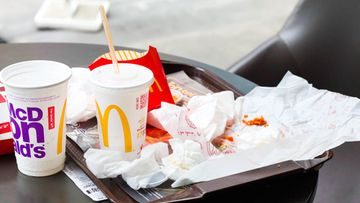 McDonald's ruoka ateria hampurilainen limu